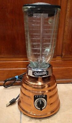 Vintage John Oster Osterizer Deluxe 403 Blender 2-Speed Copper BeeHive Works