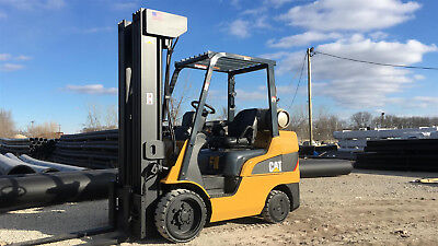 2012 Caterpillar 2C6000 Forklift Lift Truck Hilo Fork,6000Lb Capacity,cushion
