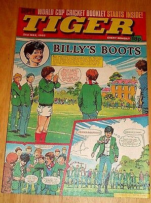 Tiger Comic 1983 With World Cup Cricket Booklet Part 1