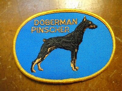 Vintage DOBERMAN PINSCHER Dog Patch