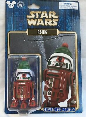 Disney Parks Star Wars Droid Factory R2-H16 Christmas Holiday Droid 2016 New 4+