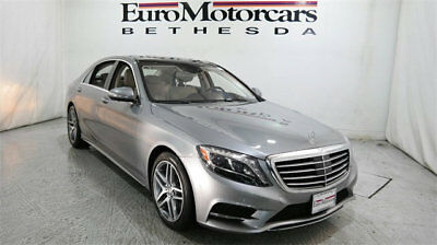 2015 Mercedes-Benz S-Class 4dr Sedan S 550 4MATIC mercedes benz s 550 s550 14 15 16 used certified navigation silver 4matic awd