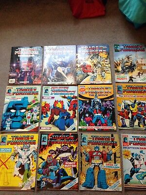 Transformers Marvel UK comics - lots!