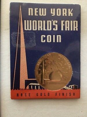 1939 New York World's Fair Coin in Original Holder