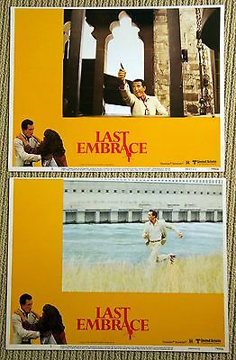 LAST EMBRACE Original Lobby Cards posters ROY SCHEIDER 1979