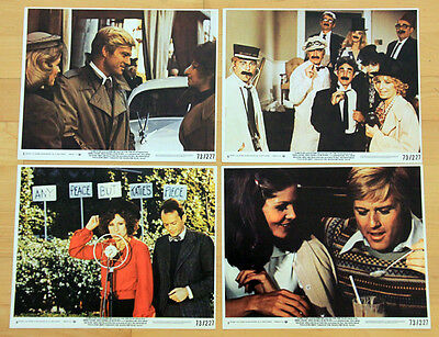 ROBERT REDFORD lobby cards BARBRA STREISAND color photos THE WAY WE WERE