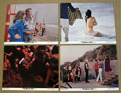 THE SWEET RIDE Lobby Cards JACQUELINE BISSET Anthony Franciosa Michael Sarrazin