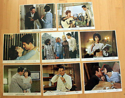 WARREN BEATTY 8x10 color photos LESLIE CARON Promise Her Anything LOBBY CARD SET