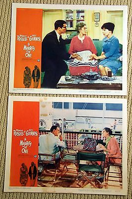 A MAJORITY OF ONE Original Lobby Cards posters ROSALIND RUSSELL Alec Guinness
