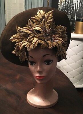 Jack McConnell Red Feather Hat