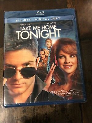 Take Me Home Tonight Blu-ray NEW! Free Ship
