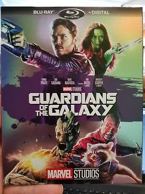 Marvel Guardians of the Galaxy  (Blu-Ray, 2017) Phase Two Cover Art Disney