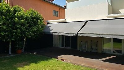 Large Charcoal Grey Awnings