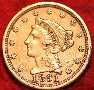 1851-O New Orleans  Mint Gold $2.50