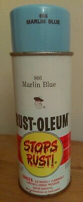 Vintage Spray Paint Rust-Oleum 866 Marlin Face Scotty Label