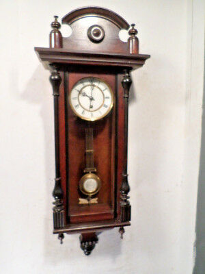 German 1890 Vienna Regulator Timepiece Wall Regulator