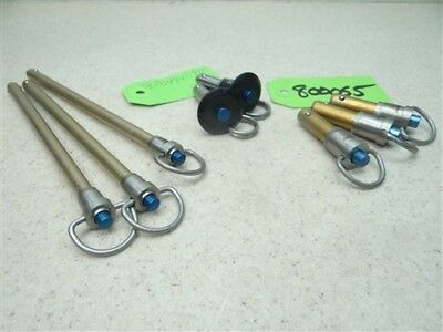 New Lot Of 8 Jergens #80045, #800649 & #80065 Button Handles