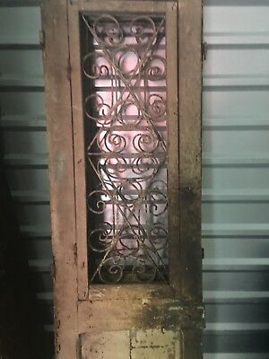 Set of old architectural doors.