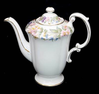Vintage Paragon Country Lane exquistely pretty floral ornate coffee pot