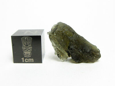Moldavite 1.73g Impactite - Rare Brown Color, Formed by Meteorite Impact