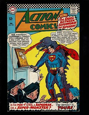 Action Comics 333 F 6.0 Superman / Monster Lex Andora Luthor Superwoman Superboy