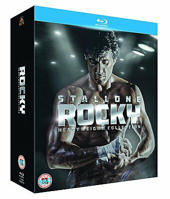 Rocky Heavyweight Complete 6 Film Collection Blu-ray Boxset Sylvester Stallone