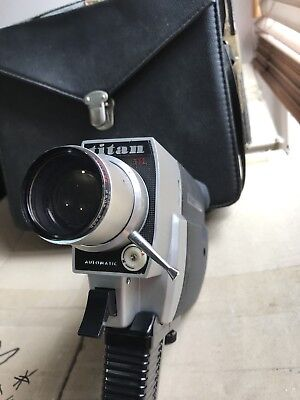Super 8 Camera With Hard Carry Case