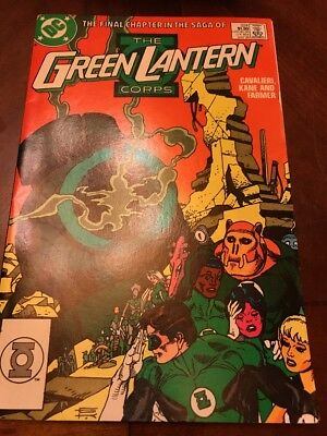 #224 - The GREEN LANTERN Corps - Final Chapter In the Saga - DC 1988