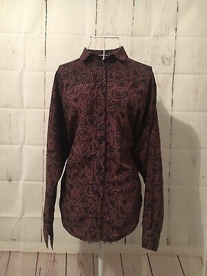 Unique OJAY Australia Women's Genuine Vintage Shirt With Bat wings Sz 10 RARE!