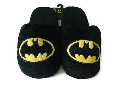 dbe87b636eee NWT DC Comics Batman Mens Slippers Shoes Size XL 11-12 Soft Plush