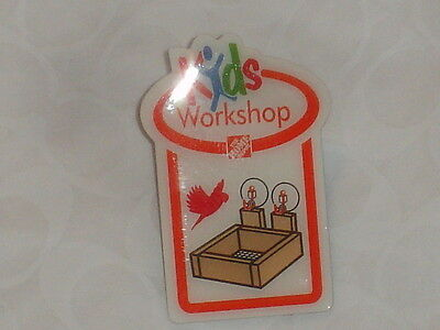 New The Home Depot Kids Workshop Bird Feeder Pin Collectible Rare Collectors