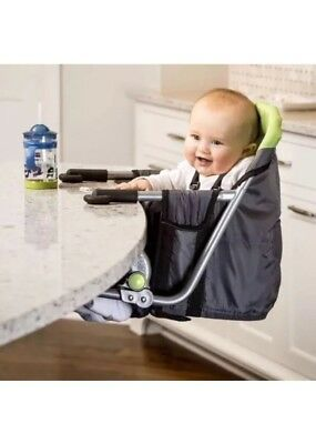 OpenBox Regalo Easy Diner Portable Hook on High Chair, Grey