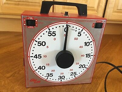 RARE GRALAB 165-S 120V AC Electric Table Top Timer/Buzzer-Photography or Sports