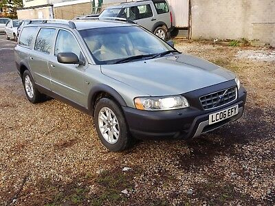 volvo XC70 2.4 D5 AWD 185 GEARTRONIC CROSS COUNTRY 4WD 2006 £2895.00