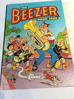 The Beezer Book annual 1986