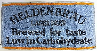 HELDENBRAU LAGER BEER Pub Bar Towel