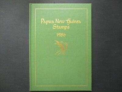 ESTATE: 1986  PNG Yearbook grab it  - great item  (5847)