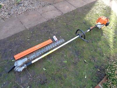 Stihl HL75 Long Reach Multi Angle Hedge trimmer Cutter Sthil HL94/HL95/HL100/KM