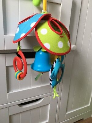 NEW - Tiny Love Cot Mobile - Pushchair Mobile - Bells, Mirror, Rattle