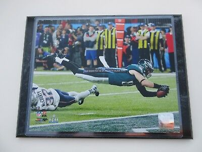 New ZACH ERTZ SUPER Bowl Jersey LII 52 Patch GreenBlack Nike  free shipping