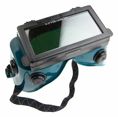 Goggles Lift Front Shade with Clear Glass Cover Lens for Welding Gas Cutting