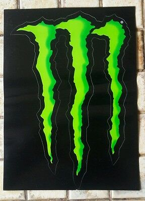 grand autocollant monster energy