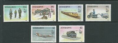 1990 Transport set 6 MUH/MNH as Issued
