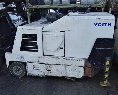 VOITH  scrubber sweeper cleaning machinery HOOF GOVERNOP