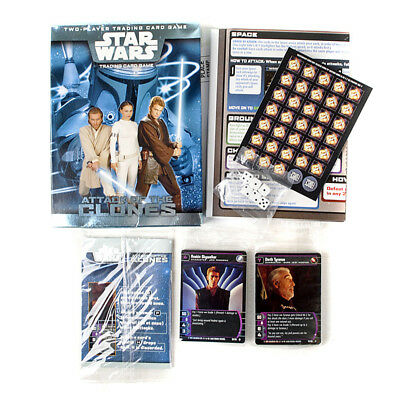 Star Wars - Trading Card Game - Attack Of The Clones. New. Wizards Of The Coast