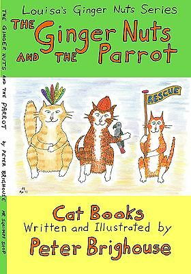 The Ginger Nuts And The Parrot 7th children's cat story Fallowfield Manchester