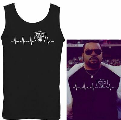 As Worn By Ice-T Pulse Oakland Raiders Vest NWA Straight Outta Compton Top