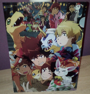 Original Digimon Clear File  Anime Manga Japan