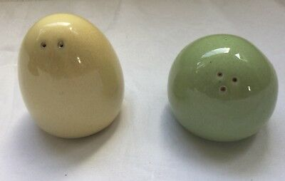 DENBY JUICE Lemon 🍋& Apple 🍏 Salt & Pepper Shakers Great Condition
