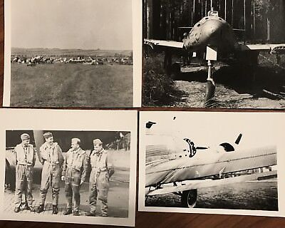 Vintage Lot Of 47 Photos Ww2 Fighter Planes Tanks Military
